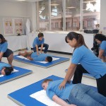 Remington College-Honolulu Campus Massage Therapy Students